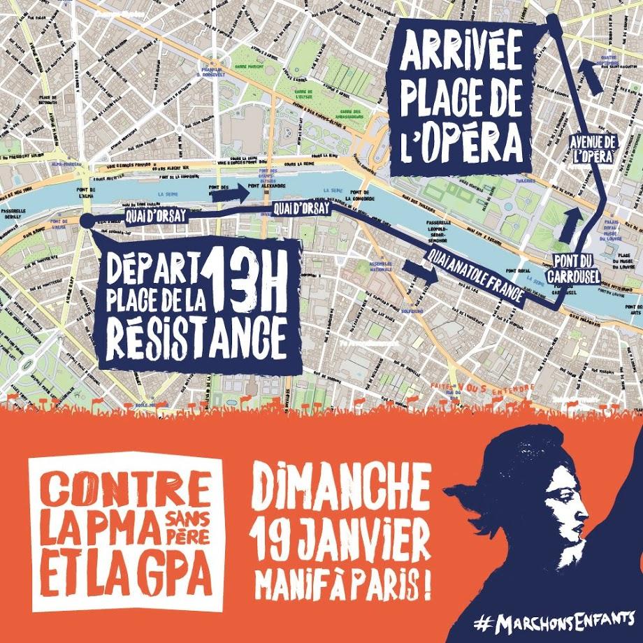 ORGANISATION DE LA MARCHE DU 19 JANVIER