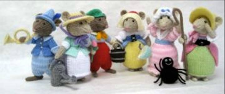 Traduction Nursery Rhyme Mice - Alan Dart