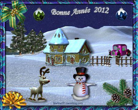 012-carte-bonne-annee-2012-voeux-bonhomme-neige-montagne