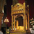 La sainte tunique du christ ostension basilique argenteuil 2016 jusqu'au 10 avril