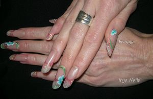 Pose sur Irya Nails