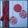 Scrapbooking & iris folding : quelques cartes de noël ...