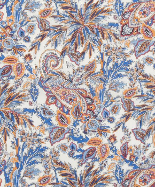 Far Away Paisley bleu orange