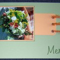 Une carte de remerciement mariage
