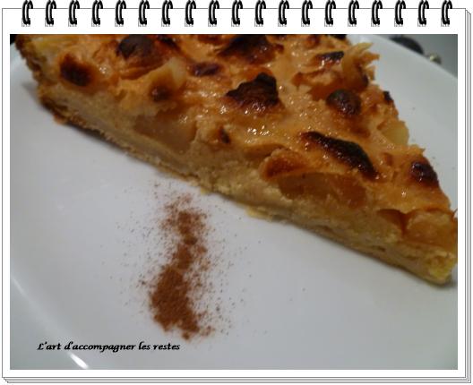 tarte aux pommes au lait gloria3