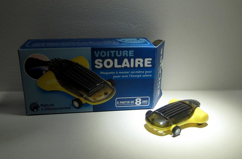 Voiture solaire (Nature et Découvertes)