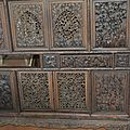 A fine carved huanghuali cabinet , Vietnam, 19th