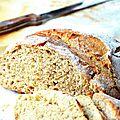Gros pain, sans pétrissage et 1 levée