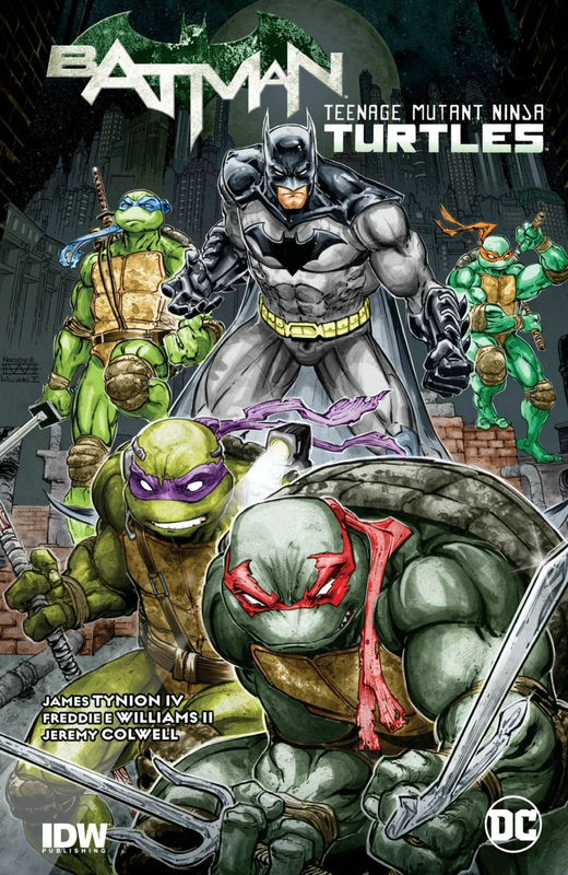 batman teenage mutant ninja turtles HC