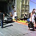 Scènes de rue: en partance