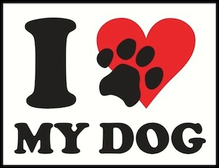 i love my dog logo 1