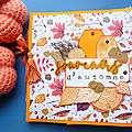 Scrap: mini album souvenirs d'automne...