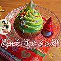 Cupcakes sapin de noël - facile et rapide