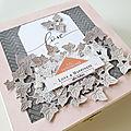 Un album romantique dans sa boite pour variations créatives avec la collection