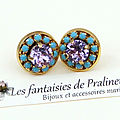 bijoux-mariage-intemporels-soiree-temoin-boucles-d-oreilles-clous-puces-colette-cristal-et-strass-violet-et-turquoise
