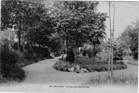 Square des écoles 1904