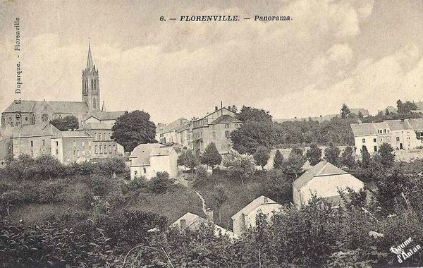 Florenville Panorama l'Eglise