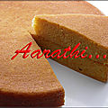 Sweet potato chiffon cake