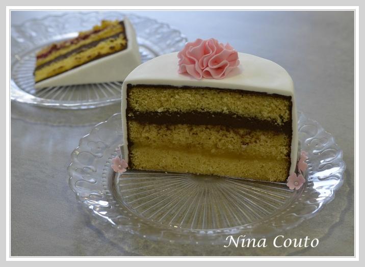 Dégustation: sponge cake ganache chocolat citron
