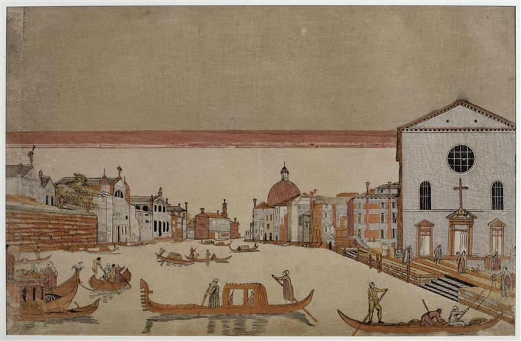 16 Toyohauru Utagawa vue de Venise
