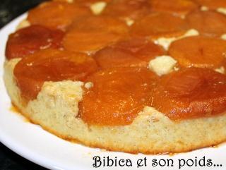 Abricotier aux flocons d'avoine gros plan