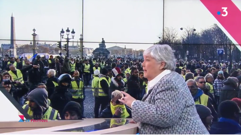 GOURAULT GILETS JAUNES DIMPOL MEDIA DIXIT WORLD