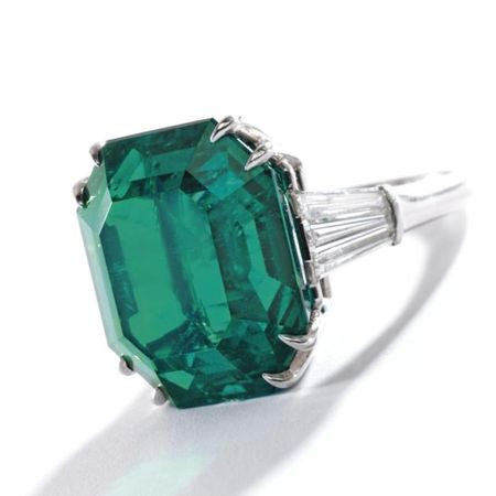 Platinum__Emerald_and_Diamond_Ring__Harry_Winston__Circa_1955b