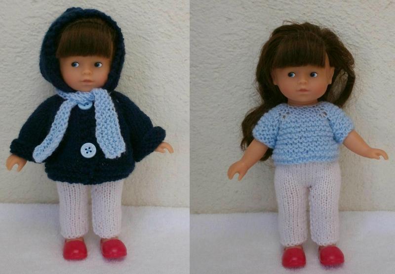 Habits pour poupée de 20 cm