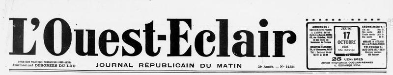 1935 le 14 octobre Yves Queffelec F Pleyben Manoir du birit_1
