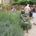 0551 - Secrets des jardins Statue Aix 16 juin