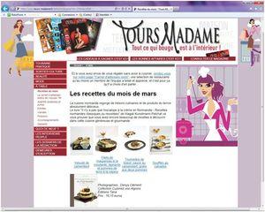 revue de presse Tours madame