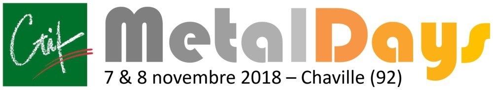 Inscrivez-vous aux MetalDays les 07 et 08 novembre - le monde de la métallurgie