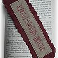 marque page free le marquoir d'elise