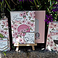 Bisous de shelli - paper pumpkin by stampin'up! - 12 cartes et enveloppes assorties
