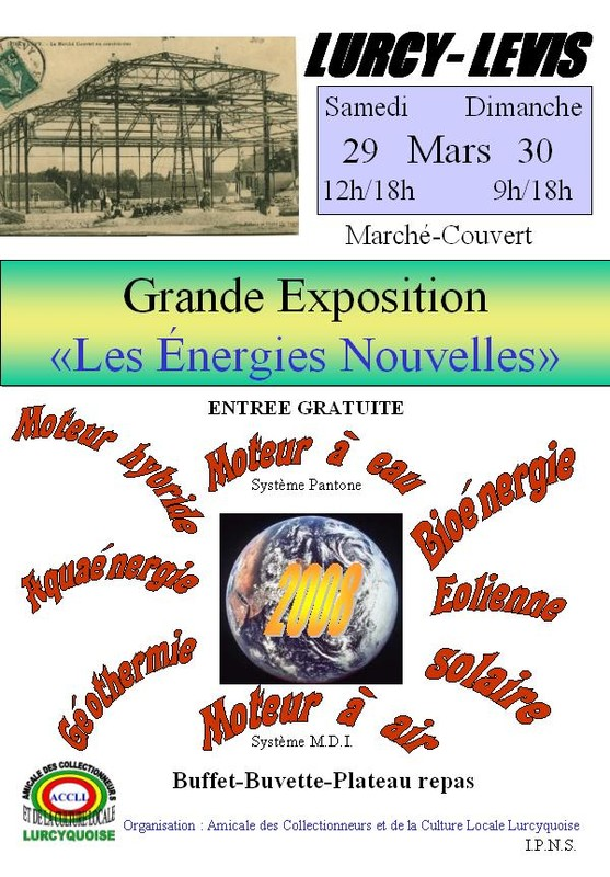 affiche expo 2008