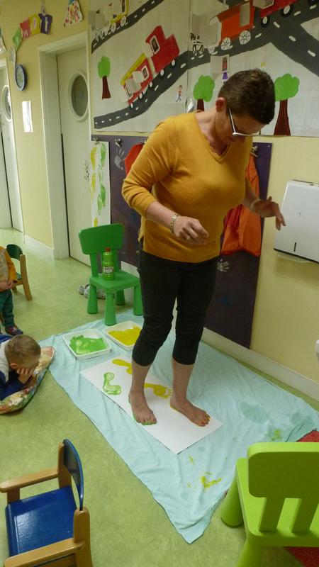 5-Ass mat peinture pieds