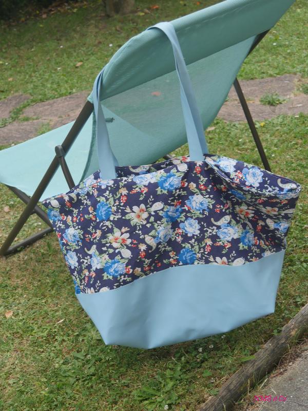 Traveller Bag fleurs Pour mes jolis sacs