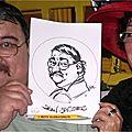 Caricaturiste à tournus en bourgogne - caricatures bd