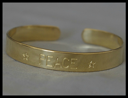 catho retro bracelet peace