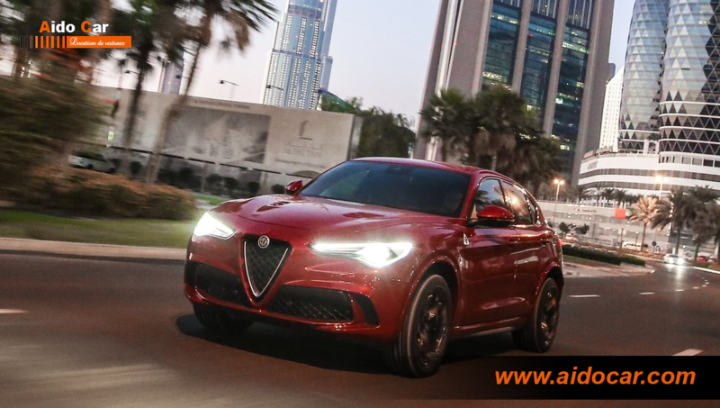location alfa romeo stelvio casablanca