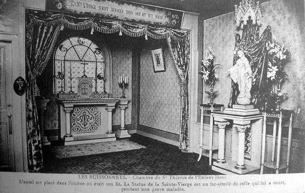 Lieux, les Buissonnets, Chambre de Ste Thérèse