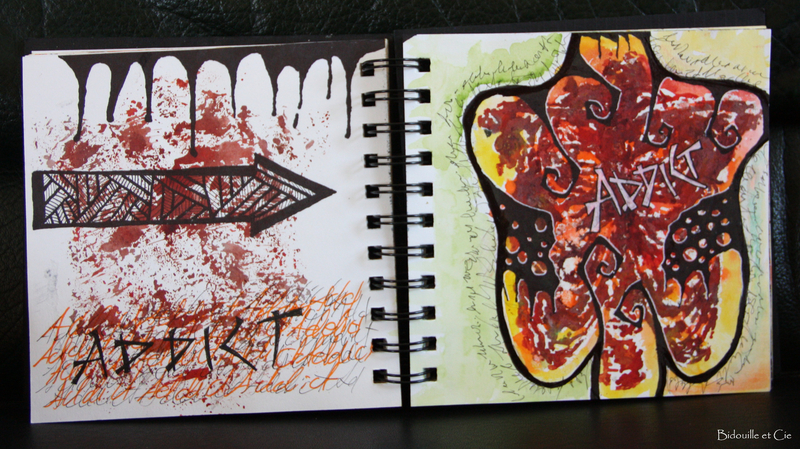 art journal gribouille 5