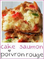 mini cakes saumon - poivrons rouge - index