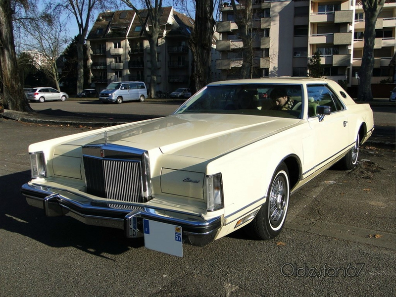 LINCOLN Continental Mark V Hardtop Coupe 1977 1979 a