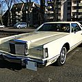 Lincoln continental mark v hardtop coupe - 1978