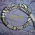 spirale crochetée patchwork pour Vinjuleve
