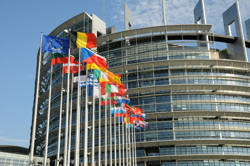 Parlement UE drapeaux