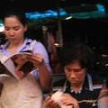 lecture au marche