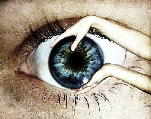 compas dans l'oeil