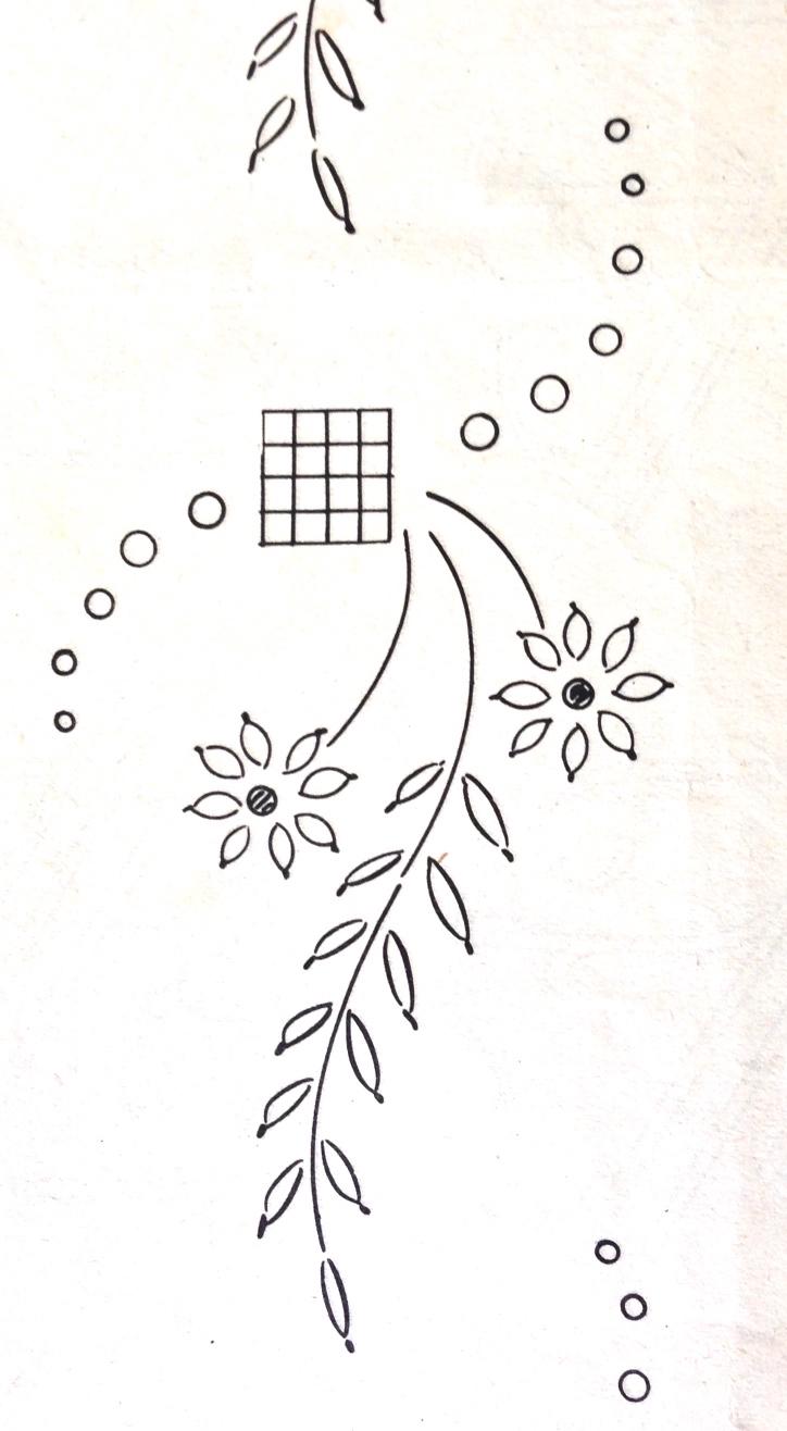 motif broderie2 la libellule s'évade